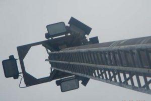 Parkes Wharf flood light tower